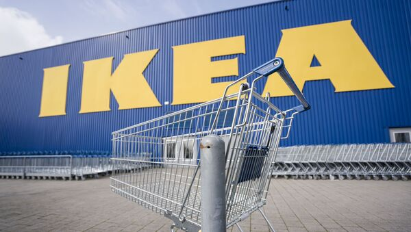 The branch of the furniture chain Ikea at the company's German headquarters in Wallau near Wiesbaden was closed as of 17 March 2020. - Sputnik International