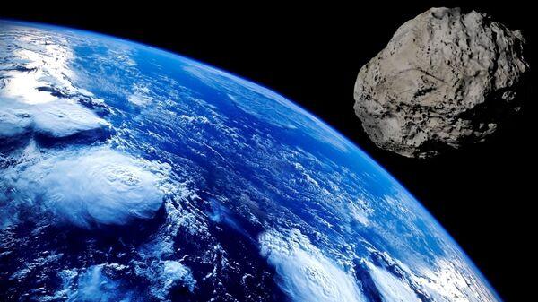Asteroid and the Earth - Sputnik International