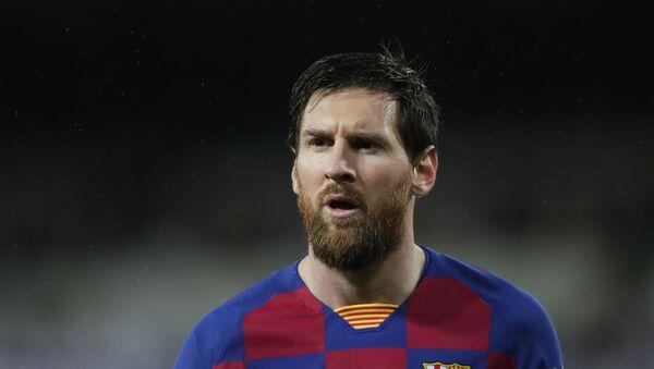 Barcelona's Lionel Messi in Madrid - Sputnik International