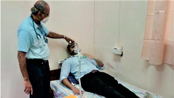 Swasth Vayu Non-Invasive Ventilator Trial  - Sputnik International