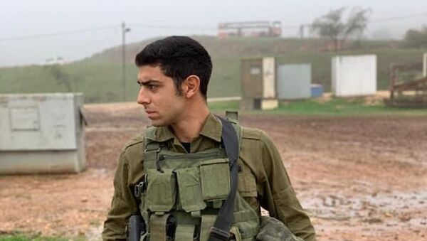 This is 21-year-old IDF Staff Sgt. Amit Ben Yigal of Ramat Gan, Israel. He was killed early this morning when hit in the head by a rock thrown at him during an arrest operation in the West Bank - Sputnik International