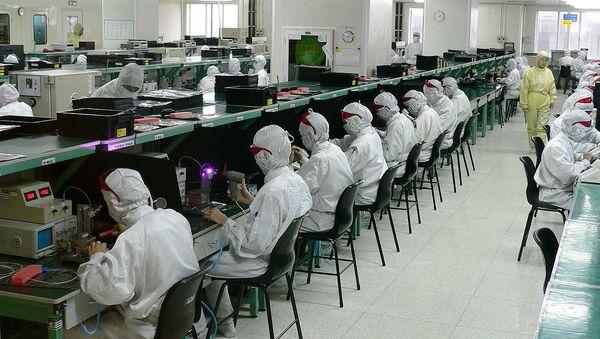 Electronics factory in Shenzhen - Sputnik International
