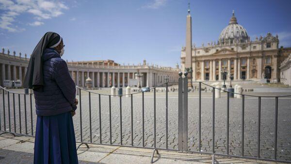 St. Peter's Square at the Vatican - Sputnik International