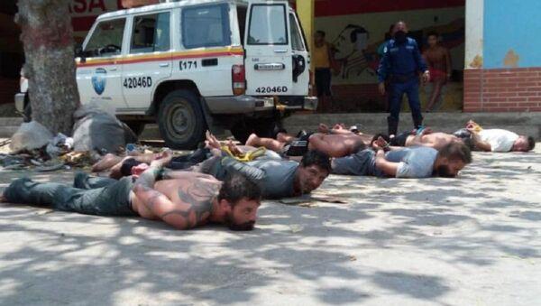 Mercenaries captured in a city on the Venezuelan coast - Sputnik International