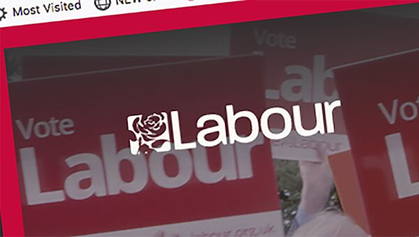 Screen-grab taken from Britain's Labour Party internet site showing the party logo Tuesday Nov. 12, 2019.  - Sputnik International