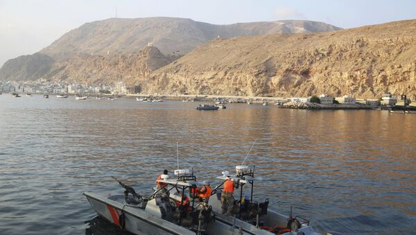 In this Thursday, Nov. 29, 2018, photograph, Yemen coast guard vessels patrol the waters near Mukalla, Yemen. The port city of Mukalla, once held by al-Qaida, shows how fractious Yemen is and will remain even if the Saudi-led war in the country ends in an uneasy peace for the Arab world's poorest nation - Sputnik International