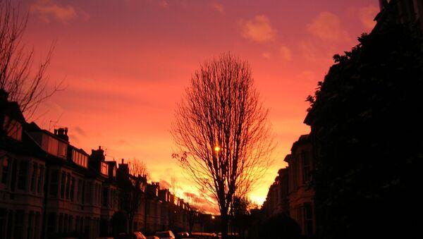 Red sky in the morning - Sputnik International