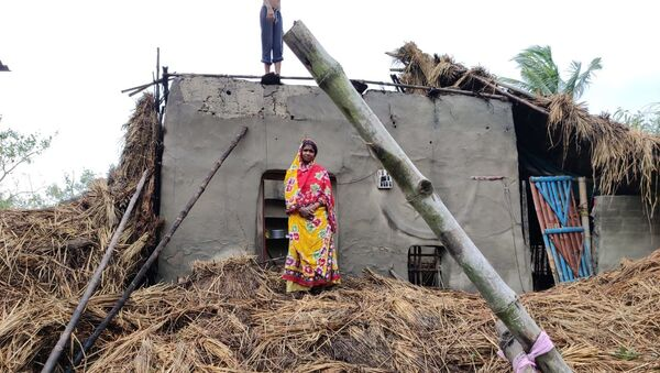 Cyclone Amphan hit Sunderbans, West Bengal, India - Sputnik International