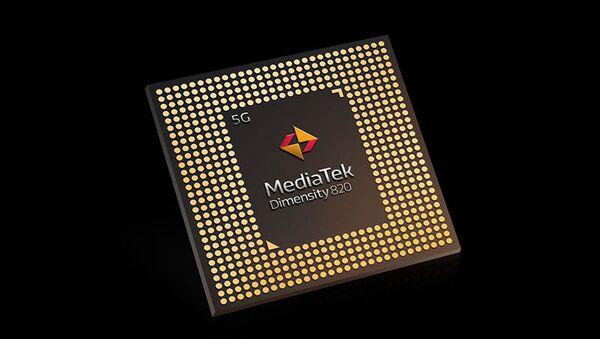 Hsinchu-based MediaTek's 5G Dimensity 820 Chipset - Sputnik International