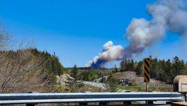 Fire broke out in Halifax Municipality, Nova Scotia, Canada, 23 May 2020 - Sputnik International