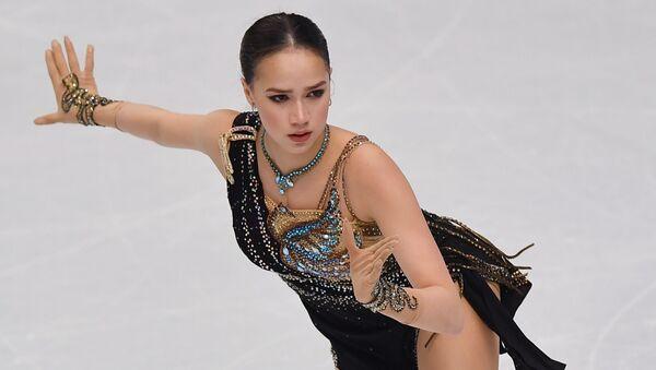 Beauty, Grace and Youth: Meet Russia's Gold-Winning Figure Skating Treasure Alina Zagitova - Sputnik International