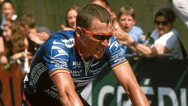Lance Armstrong  - Sputnik International