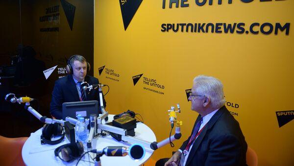 AmCham Russia President and CEO Alexis Rodzianko During Interview With Sputnik - Sputnik International