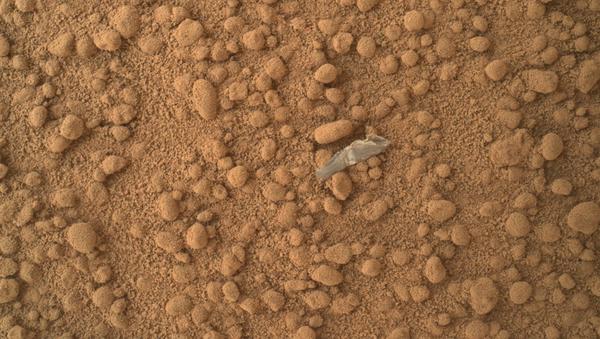 Кусок объекта на поверхности Марса  - Sputnik International