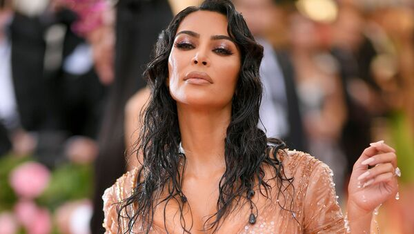 American media personality and model Kim Kardashian West attends the 2019 Met Gala Celebrating Camp: Notes on Fashion at Metropolitan Museum of Art on May 06, 2019 in New York City.    - Sputnik International