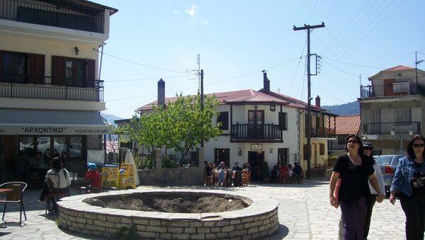 Spilaio Central Square. Grevena - Sputnik International