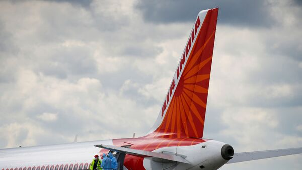 An Air India Airbus A320 plane is seen at the Boryspil International Airport upon arrival, amid the coronavirus disease (COVID-19) outbreak outside Kiev, Ukraine May 26, 2020.  - Sputnik International