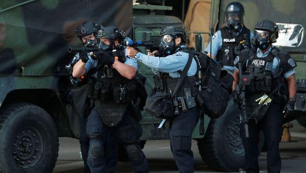 US militarised police - Sputnik International