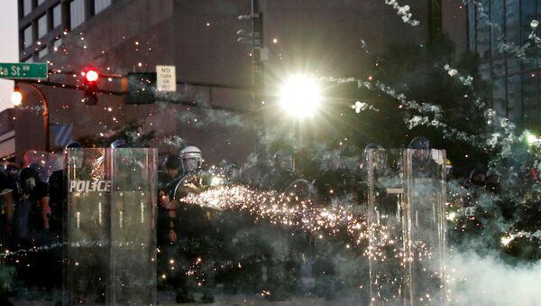 Protesters in Atlanta - Sputnik International