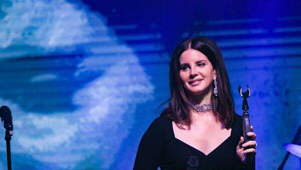 Singer Lana Del Rey in New York City - Sputnik International