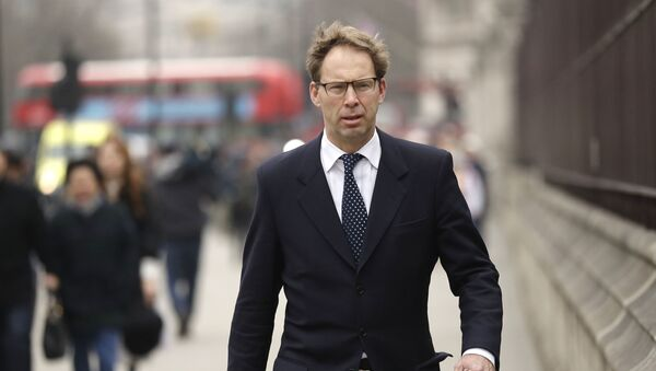 Conservative MP Tobias Ellwood arrives at the Houses of Parliament in London, Friday March 24, 2017 - Sputnik International