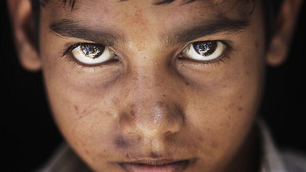 India - Varanasi dark hair boy - Sputnik International