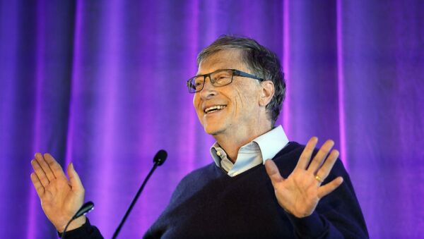 Microsoft co-founder Bill Gates speaks at the opening of the Bill & Melinda Gates Center for Computer Science and Engineering at the University of Washington, Thursday, Feb. 28, 2019, in Seattle - Sputnik International
