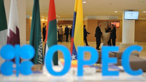 Participants attend the opening session of the 15th International Energy Forum in Algiers on September 27, 2016. - Sputnik International