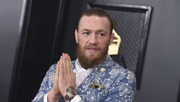 Conor McGregor arrives at the 62nd annual Grammy Awards at the Staples Center on Sunday, Jan. 26, 2020, in Los Angeles. - Sputnik International