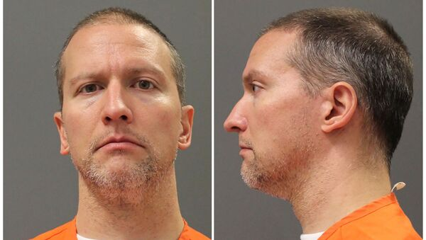 Former Minneapolis police officer Derek Chauvin poses for an undated booking photograph taken after he was transferred from a county jail to a Minnesota Department of Corrections state facility - Sputnik International