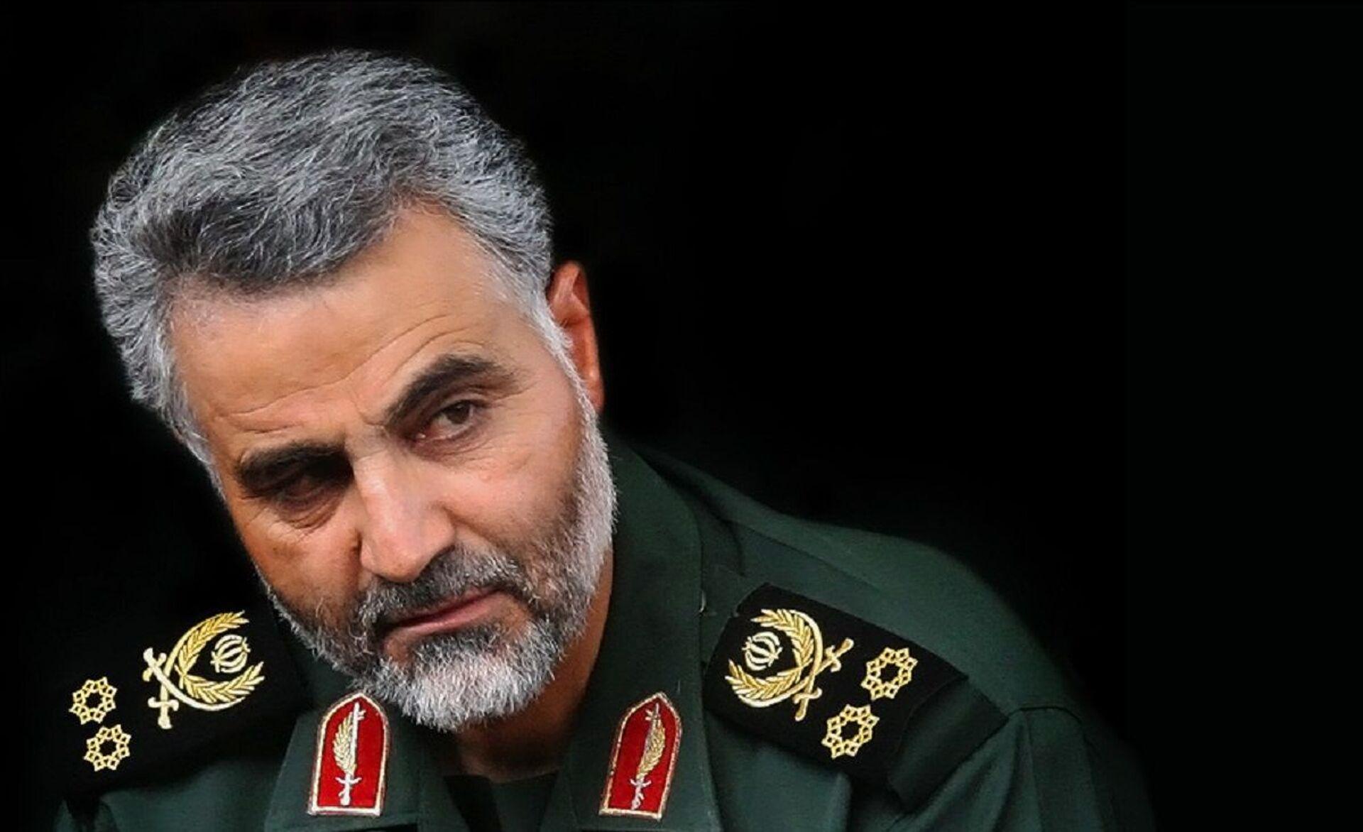 Qasem Soleimani - commander of Quds Force of Army of the Guardians of the Islamic Revolution (IRGC) - Sputnik International, 1920, 07.09.2021