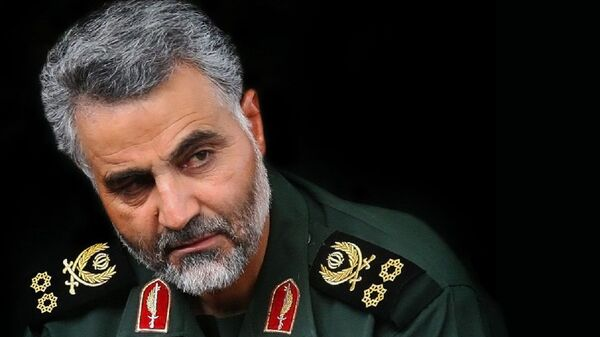 Qasem Soleimani - commander of Quds Force of Army of the Guardians of the Islamic Revolution (IRGC) - Sputnik International