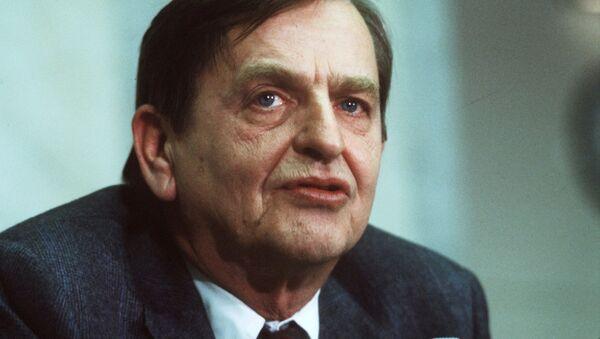 Swedish politican and Prime minister Olof Palme photographed December 12, 1983. Picture taken December 12, 1983 - Sputnik International