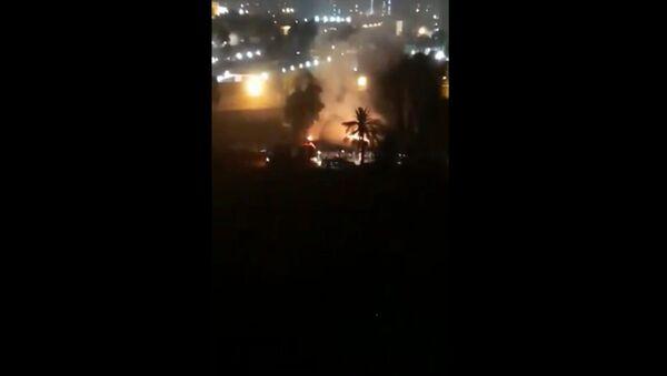 More footage shows the aftermath of Katyusha attack on #GreenZone, #Baghdad. - Sputnik International