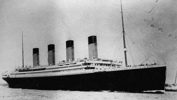 US Challenges Expedition Effort to Retrieve Radio From Sunken Titanic - Sputnik International