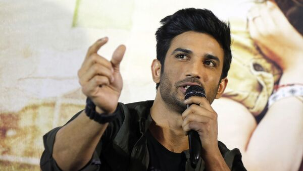 Bollywood actor Sushant Singh Rajput speaks during a press conference to promote his upcoming movie Raabta in Ahmadabad, India, Tuesday, May 30, 2017. The film is schedule to be released on June 9. - Sputnik International