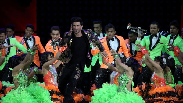 FILE PHOTO: Actor Sushant Singh Rajput performs (C) at the International Indian Film Academy Awards (IIFA) show at MetLife Stadium in East Rutherford, New Jersey, U.S., July 15, 2017 - Sputnik International