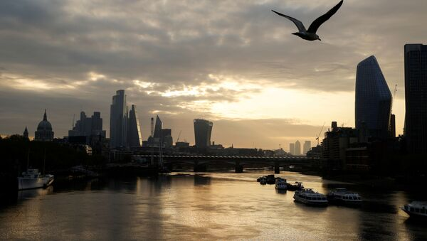 FILE PHOTO: The city of London financial district and the river Thames are seen in early morning, as the spread of coronavirus disease (COVID-19) continues in London, Britain, April 19 2020 - Sputnik International