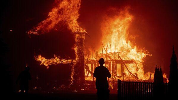 The Paradise wildfire in California in November 2018 - Sputnik International