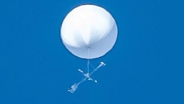 An unidentified flying object spotted over northeastern Japan, 17.06.2020. - Sputnik International