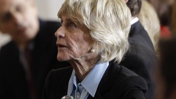 FILE - In this Jan. 20, 2011 file photo, Jean Kennedy Smith attends a ceremony marking the 50th anniversary of President John F. Kennedy's inaugural speech on Capitol Hill in Washington. Jean Kennedy Smith, the youngest sister and last surviving sibling of President John F. Kennedy, died at 92, her daughter confirmed to The New York Times, Wednesday, June 17, 2020 - Sputnik International