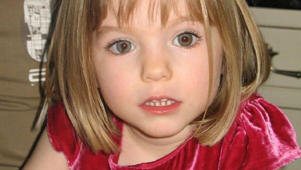An undated handout photograph released by the Metropolitan Police in London on 3 June 2020, shows Madeleine McCann who disappeared in Praia da Luz, Portugal on 3 May 2007 - Sputnik International