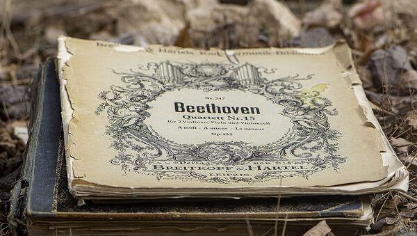 Beethoven's сomposition - Sputnik International