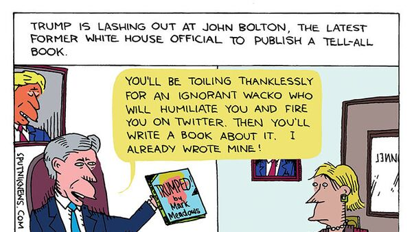 Bolton Down the Hatches - Sputnik International