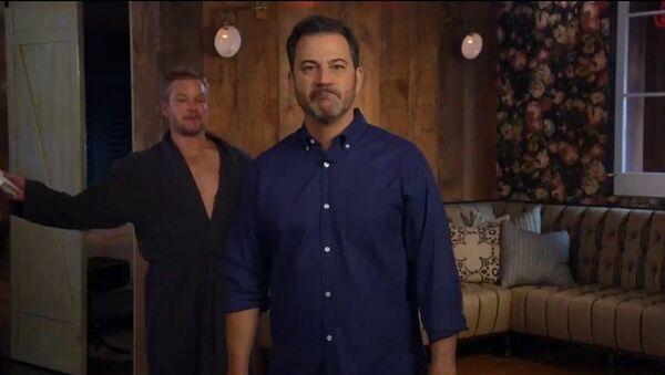 Screenshot of the video An Unwanted Visit from the Demon Matt Damon on Jimmy Kimmel Live - Sputnik International