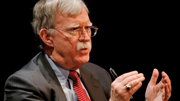 Former U.S. national security advisor John Bolton speaks during a lecture at Duke University in Durham, North Carolina, U.S. February 17, 2020 - Sputnik International
