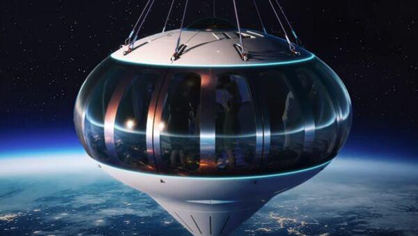 PriestmanGoode's Neptune balloon will fly passengers to the edge of space - Sputnik International