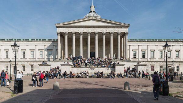 The Wilkins Building, University College London, Gower Street, Bloomsbury, London, England - Sputnik International