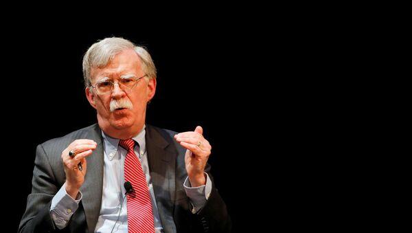 Former U.S. national security advisor John Bolton speaks during his lecture at Duke University in Durham, North Carolina, U.S. February 17, 2020 - Sputnik International