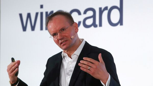 Markus Braun, CEO of Wirecard AG, an independent provider of outsourcing and white label solutions for electronic payment transactions attends the company's annual news conference in Aschheim near Munich, Germany April 25, 2019 - Sputnik International